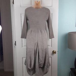 Inizio Dresses - Inizio Magic 2 Pocket Taupe Dress Size Small